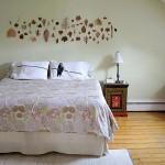 Decoração com adesivos para quarto de casal 3