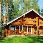 Casa rustica em madeira