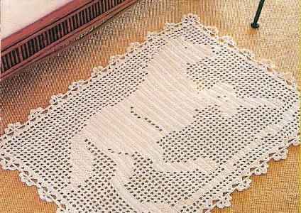 Aprenda a fazer lindos tapetes de crochê (Foto: Divulgação)