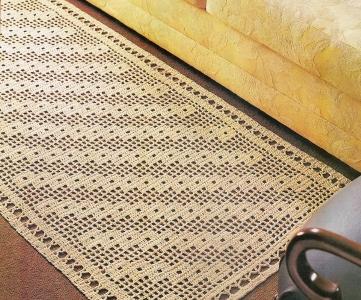 Fazer tapetes de crochê pode ser mais simples do que você imagina (Foto: Divulgação)