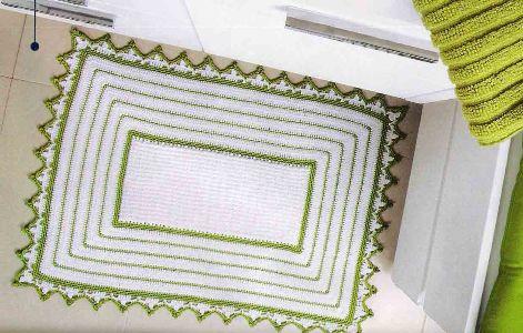 Veja as várias forma de se fazer um lindo tapete de crochê (Foto: Divulgação)