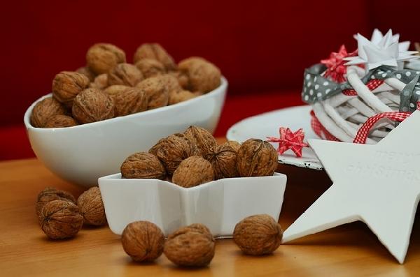As nozes são símbolo do Natal portanto não podem faltar nos pratos (Foto: Divulgação)