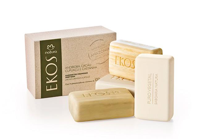 Com diferentes fragrâncias, sabonete hidrata e deixa a pele cheirosa (Foto: Divulgação)