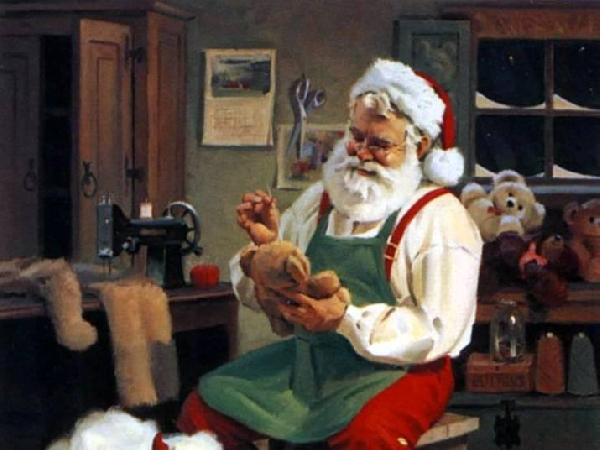 Papai Noel era Santo Nicolau (Foto: Divulgação)