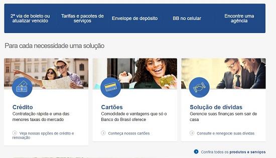 Acesse o site do Banco do Brasil para começar a emitir a sua segunda via de fatura (Foto: Divulgação)