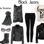 Black Jeans – Looks das Famosas
