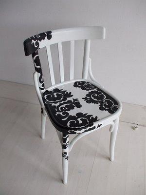 Ideias criativas para customizar cadeiras 1