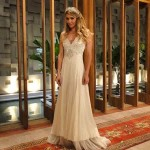 Natalie em seu vestido de noiva em Insensato Coração (Foto:Divulgação)