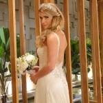 Decote de Natalie no dia do seu casamento (Foto:Divulgação)