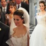 Segundo casamento de Marina em Insensato Coração (Foto:Divulgação)