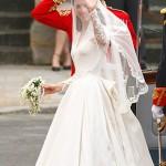 Kate Middleton com o vestido criado por Sarah Burton  (Foto:Divulgação)