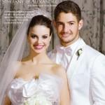 em 2009 o casamento de Stephany e Alexandre Pato (Foto:Divulgação)