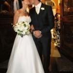 Isabela Fiorentino adotou o estilo noiva clássica (Foto:Divulgação)