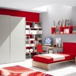 decoração de quarto vermelho (Foto:Divulgação)