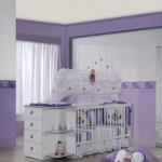 Decoração lilás para o quarto do bebê (Foto:Divulgação)