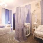 Decoração elegante para o quarto do bebê(Foto:Divulgação)
