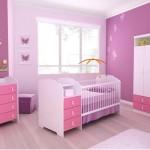 Decoração rosa para quartos de bebês (Foto:Divulgação)