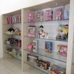 As estantes podem ser usadas em lojas.  (Foto: Divulgação)