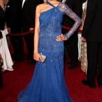 Freida Pinto com vestido para o Oscar (Foto:Divulgação)