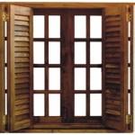 A janela de madeira é uma peça atemporal e sempre sofisticada.