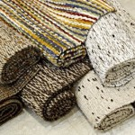 Os tapetes de sisal  são muito famosos na Índia.