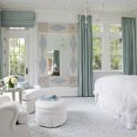 Móveis, acessórios e revestimento vão reproduzir o estilo romântico na decoração.