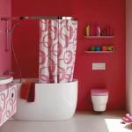 Decoração para banheiro rosa (Foto:Divulgação)