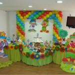 O colorido expresso na decoração de aniversário