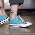 Tatuagem Converse All Star (Foto:Divulgação)