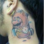 Tatuagem de Mario Bros (Foto:Divulgação)
