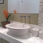 O lavabo é tão importante que pode ser definido como a apresentação da casa.