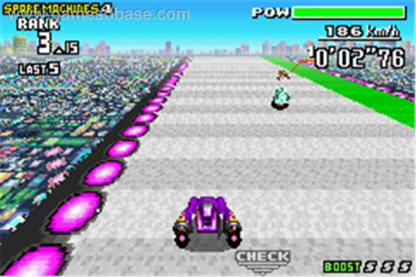 F-Zero Maximum Velocity faz parte do pacote de jogos de GBA para o 3DS (Foto: Reprodução)