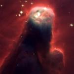 Cone Nebula - Fotografada em 1995 (Foto:Divulgação)