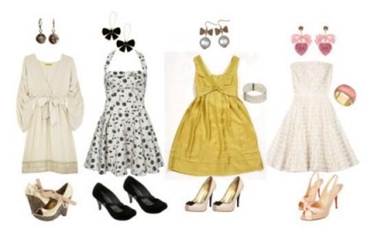 Combinações de vestidos e acessórios para as festas de fim de ano