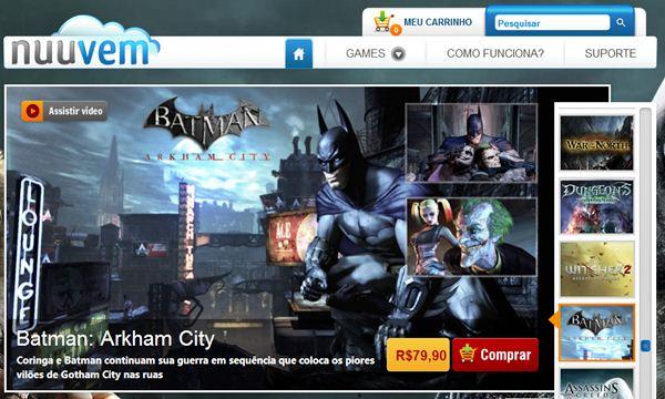 Compra de jogos a preços reduzidos