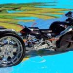 Motocicleta estranha (Foto:Divulgação)