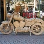Motocicleta artesanal (Foto:Divulgação)