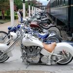 Fileira de motocicletas (Foto:Divulgação)