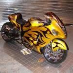 Motocicleta potente e radical (Foto:Divulgação)