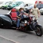 Motocicleta bastante curiosa (Foto:Divulgação)