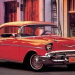 Carro vermelho antigo (Foto:Divulgação)