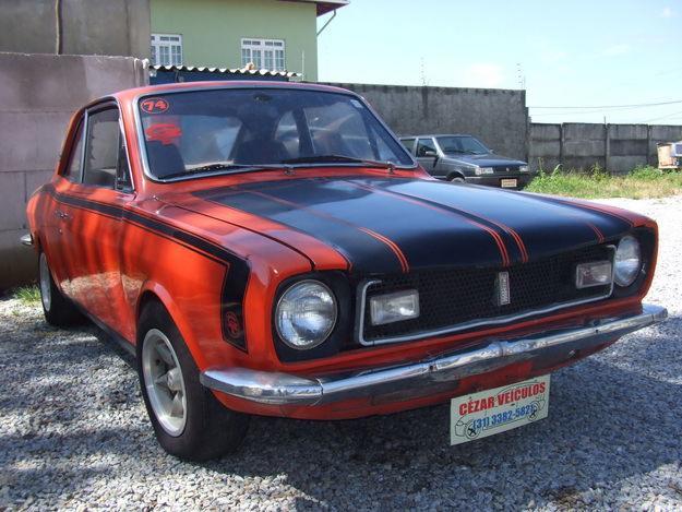 Carro antigo restaurado e tunado (Foto:Divulgação)