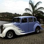 Automóvel antigo tunado (Foto:Divulgação)