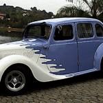 Carro antigo e tunado (Foto:Divulgação)