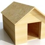 A casinha de madeira é a mais indicada para cães