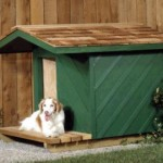 Casinhas para cachorro - modelos, idéias 3