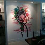 Pintura profissional em parede