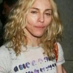 Madonna sem a maquiagem usual (Foto:Divulgação)