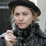Madonna com o rosto lavado (Foto:Divulgação)