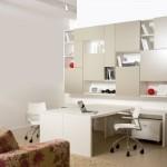 Design moderno é uma característica do escritório.